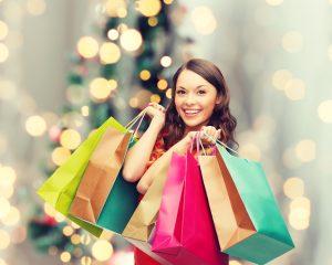 holiday shopping small