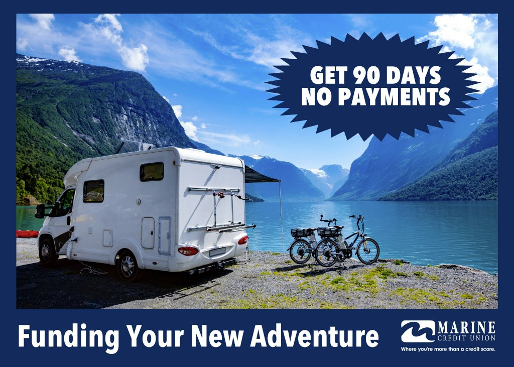 Get 90 days no payments. Funding your new adventure.