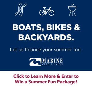 Boats, Bikes, & Backyards. Let us finance your summer fun. Click to learn more and enter to win a summer fun package!